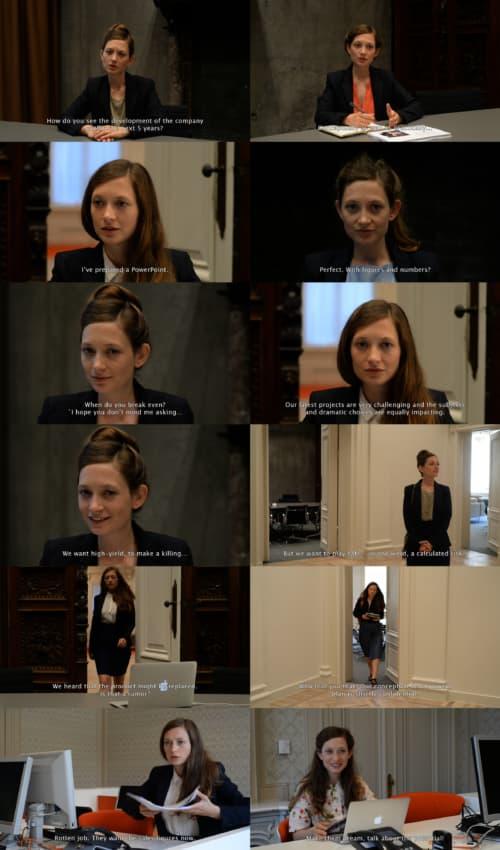 Hedendaagse schizofrenie vormt vaak het onderwerp van Ariane Lozes 'MÔWN-video's' (Movies On My Own)