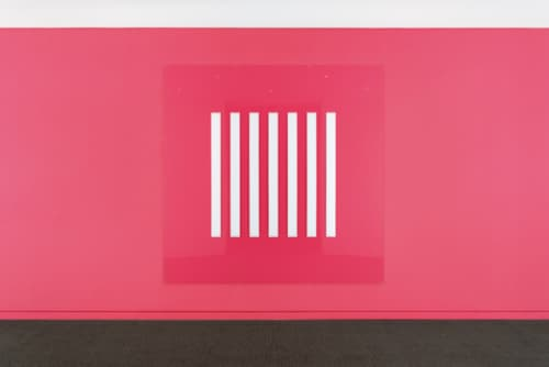 Daniel Buren went in search of the zero degree of painting. The result? A sequence of vertical strips.