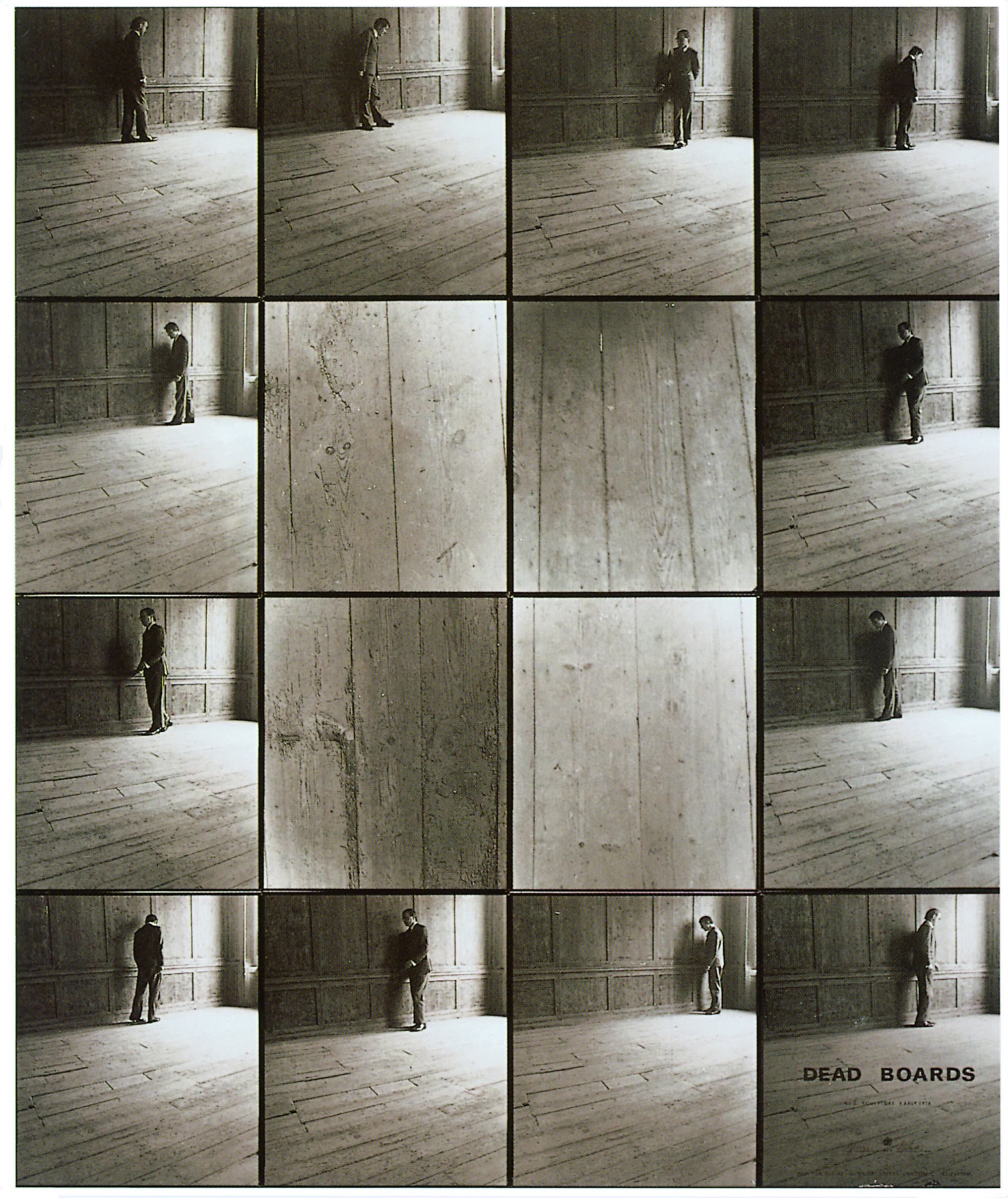 Dead Boards # 8 by Gilbert & George is a series of photos in their London home.