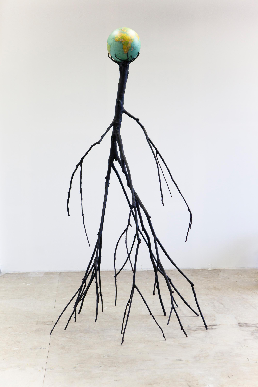 Nervous Tree by Krištof Kintera is an installation shaped like a tree formed by human characteristics.